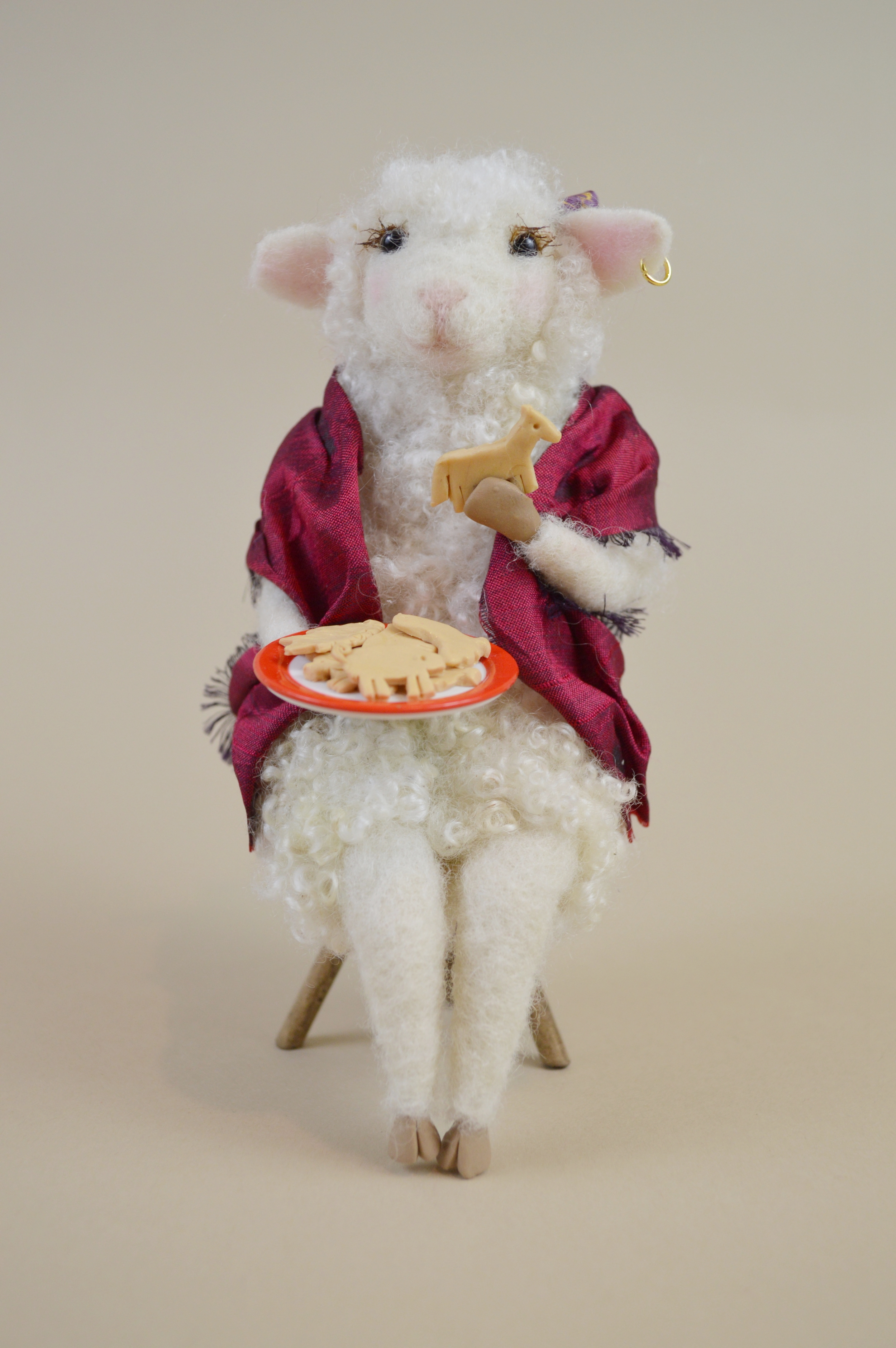 Gypsy, the Animal Cracker Loving Sheep