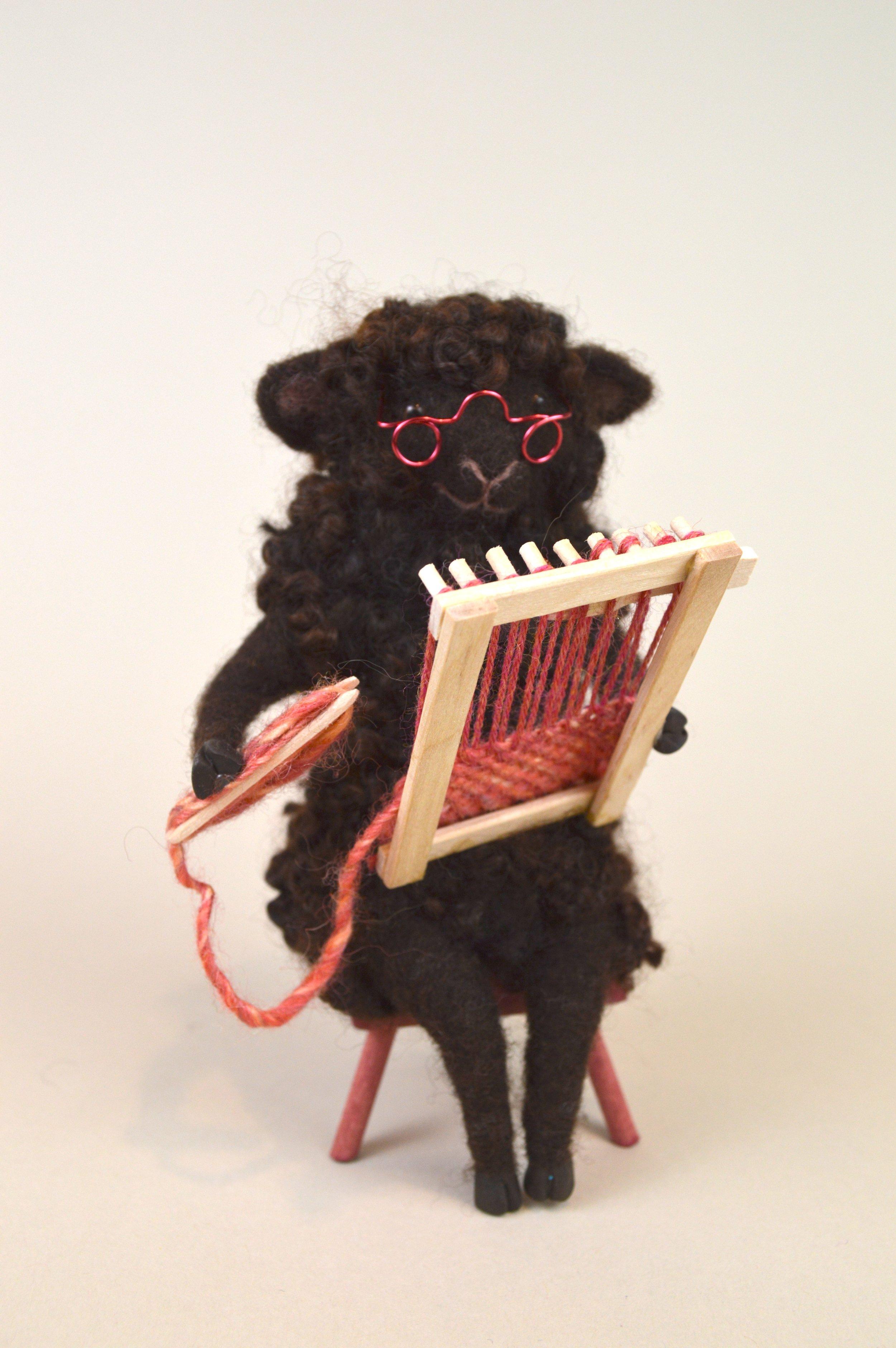 Weaving Sheep