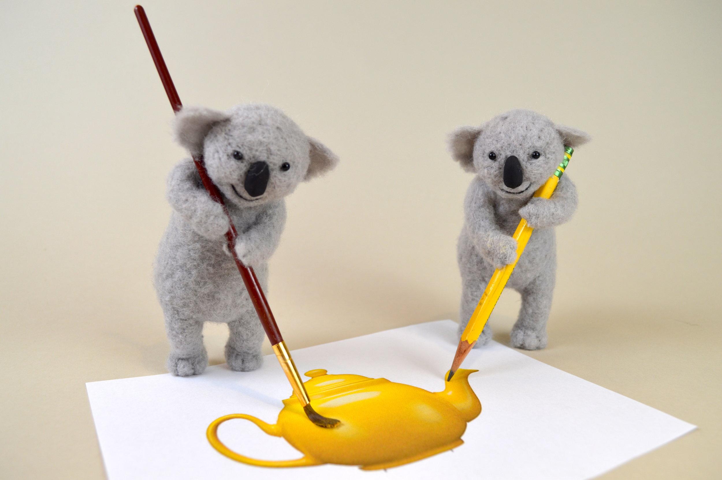 Painting Koalas