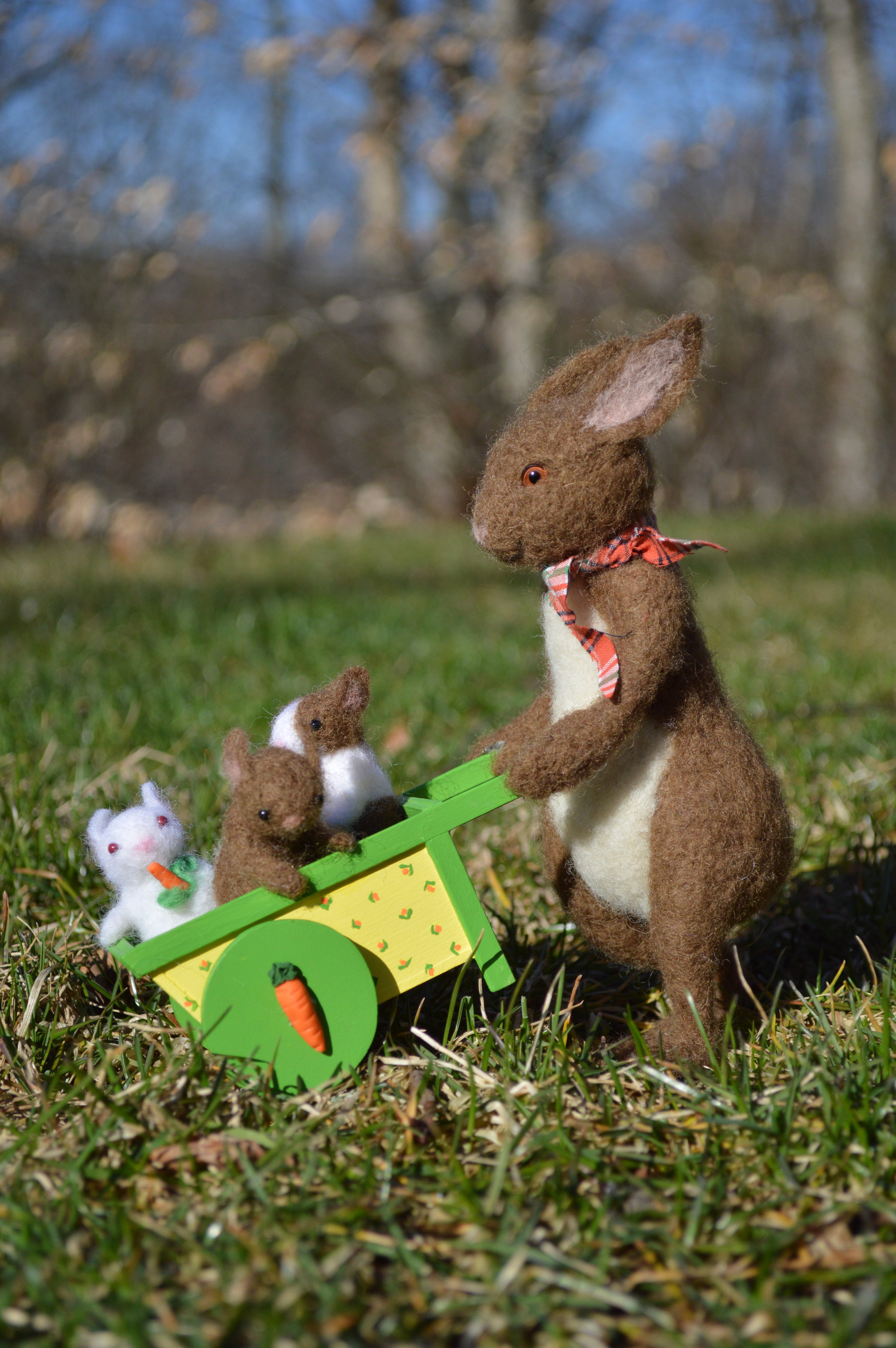 Springtime Bunny Ride