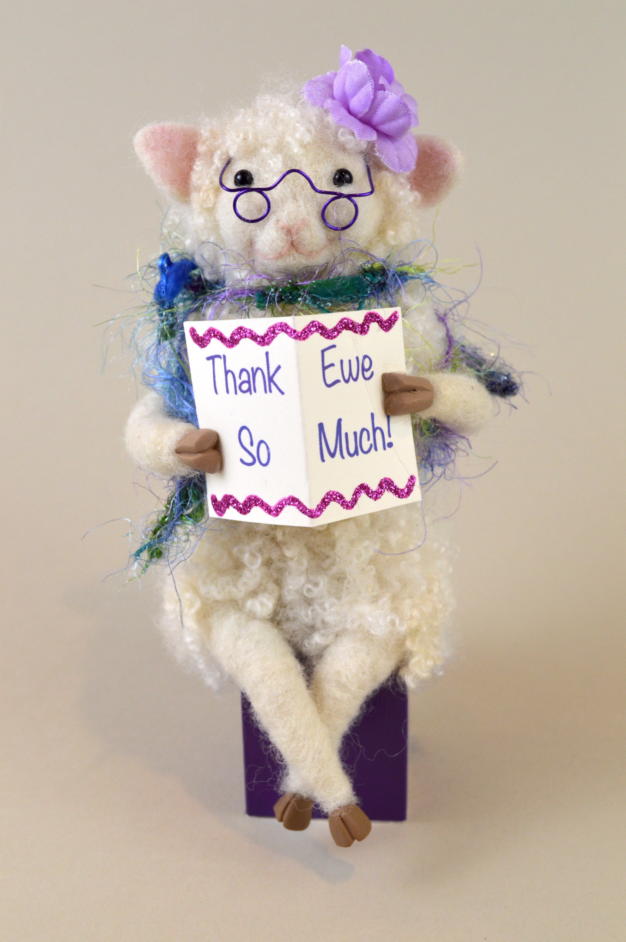 Thank Ewe So Much (in Purple)