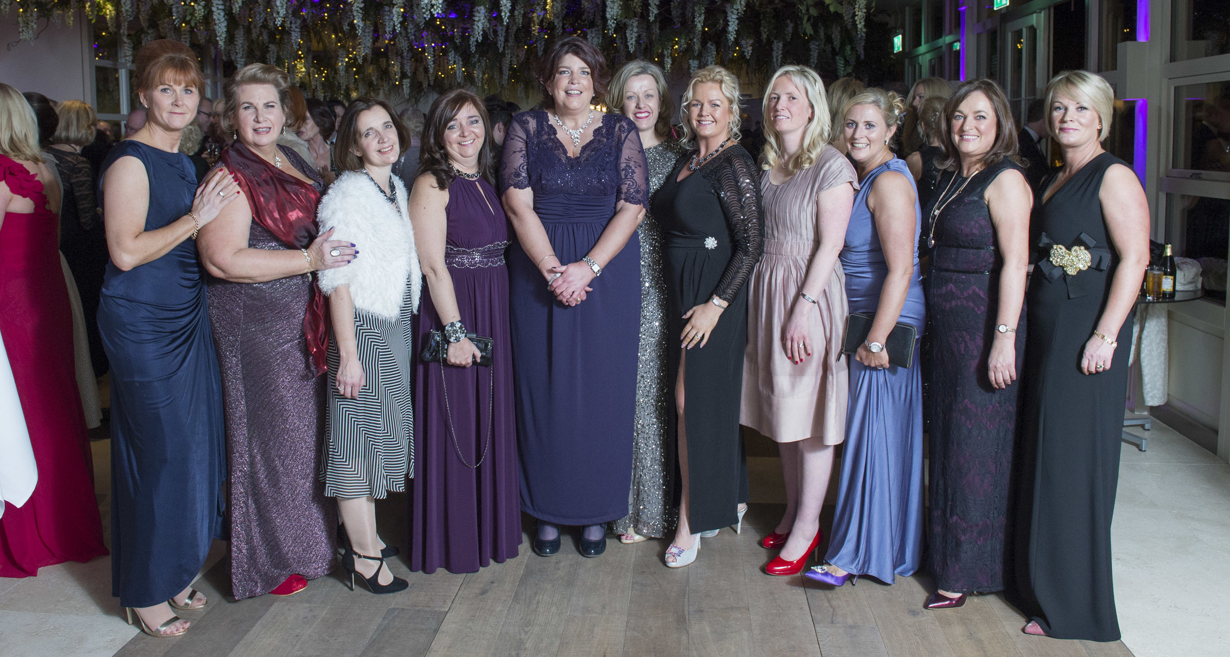 Emma Crowley (centre) and the Emma's Journey Black Tie Ball Committee including  Maria Crowley, Jacqui O'Mahony, Caroline Gibson, Una Crilly,Kate Shalloe and Juliana Moynihan, Siobhan Riordan, Ger White and Caroline Kenefick