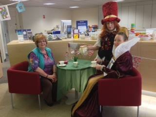 Through the Looking Glass at Rathfriland's Mad Hatters Tea Party on Friday 10 June 2016. — in Rathfriland..jpg