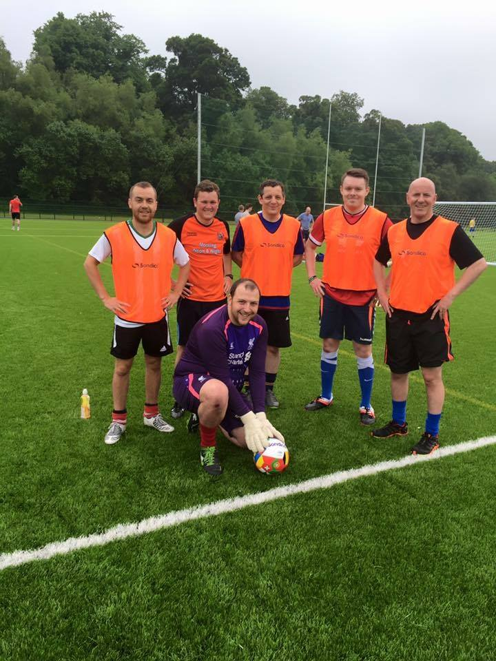 Connswater branch, belfast organised a 5 a-side competition for One Week in June..jpg