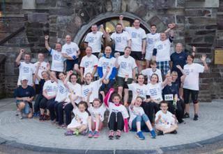 Runners taking part in the 2015 Daniel Kingston Memorial Run