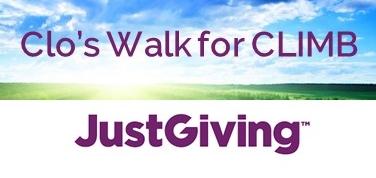 Support Clodagh's Walk for CLIMB at  justgiving.com