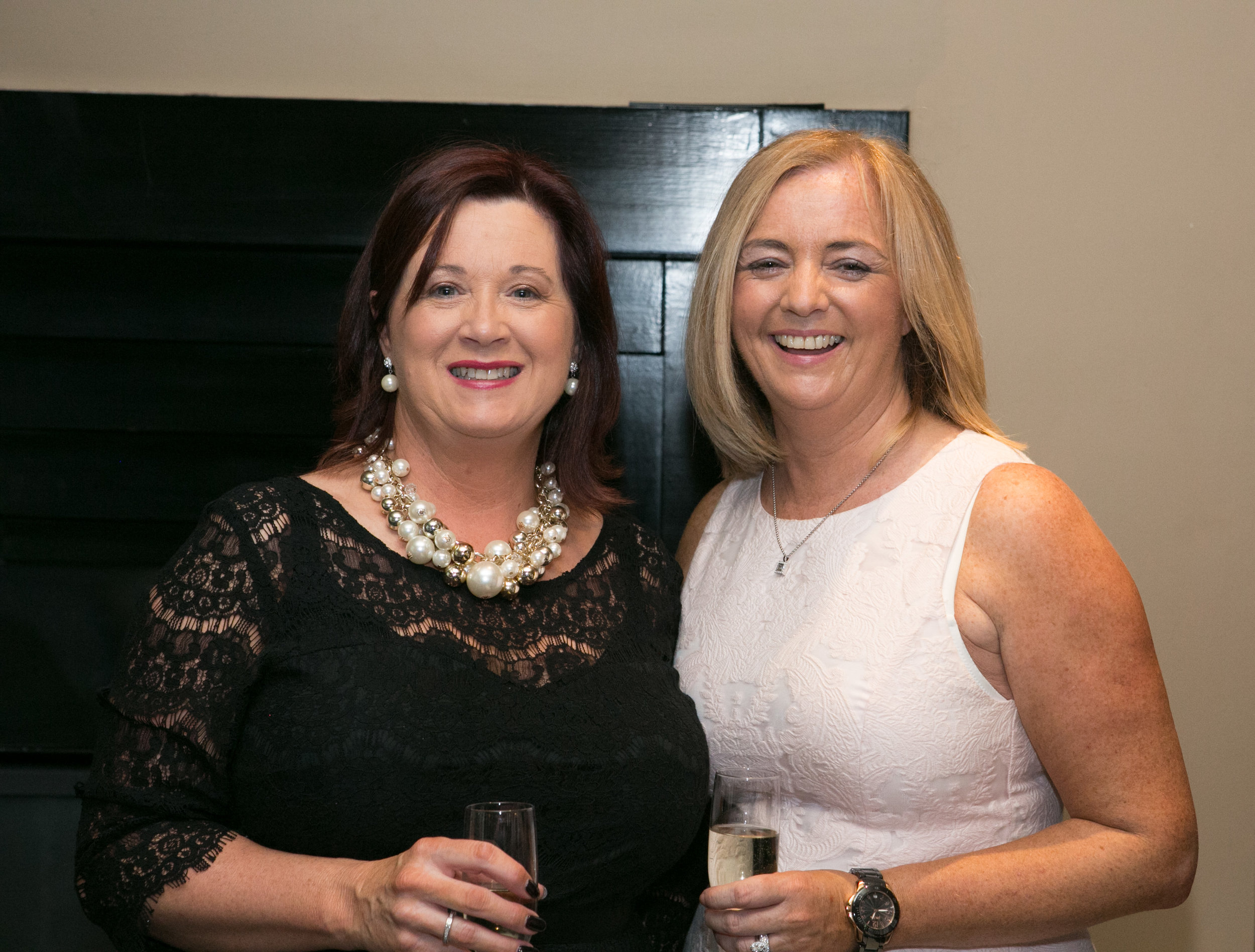 Colette O'Reilly, Ballincollig and Linda McNally from Kilcully at the Annual Aer Lingus Autumn Lunch in aid of Cork ARC Cancer Support House.