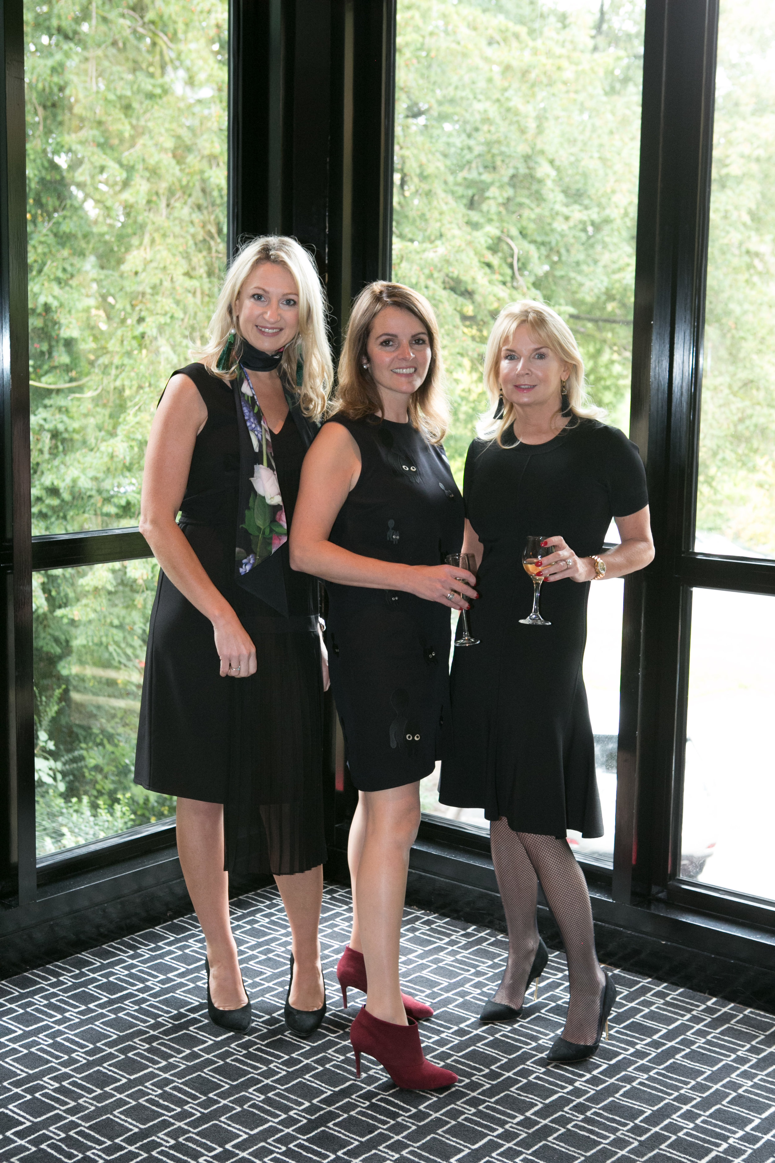 Renate Murphy, Rhona Abbey and Lorraine O'Riordan at the Annual Aer Lingus Autumn Lunch in aid of Cork ARC Cancer Support House.