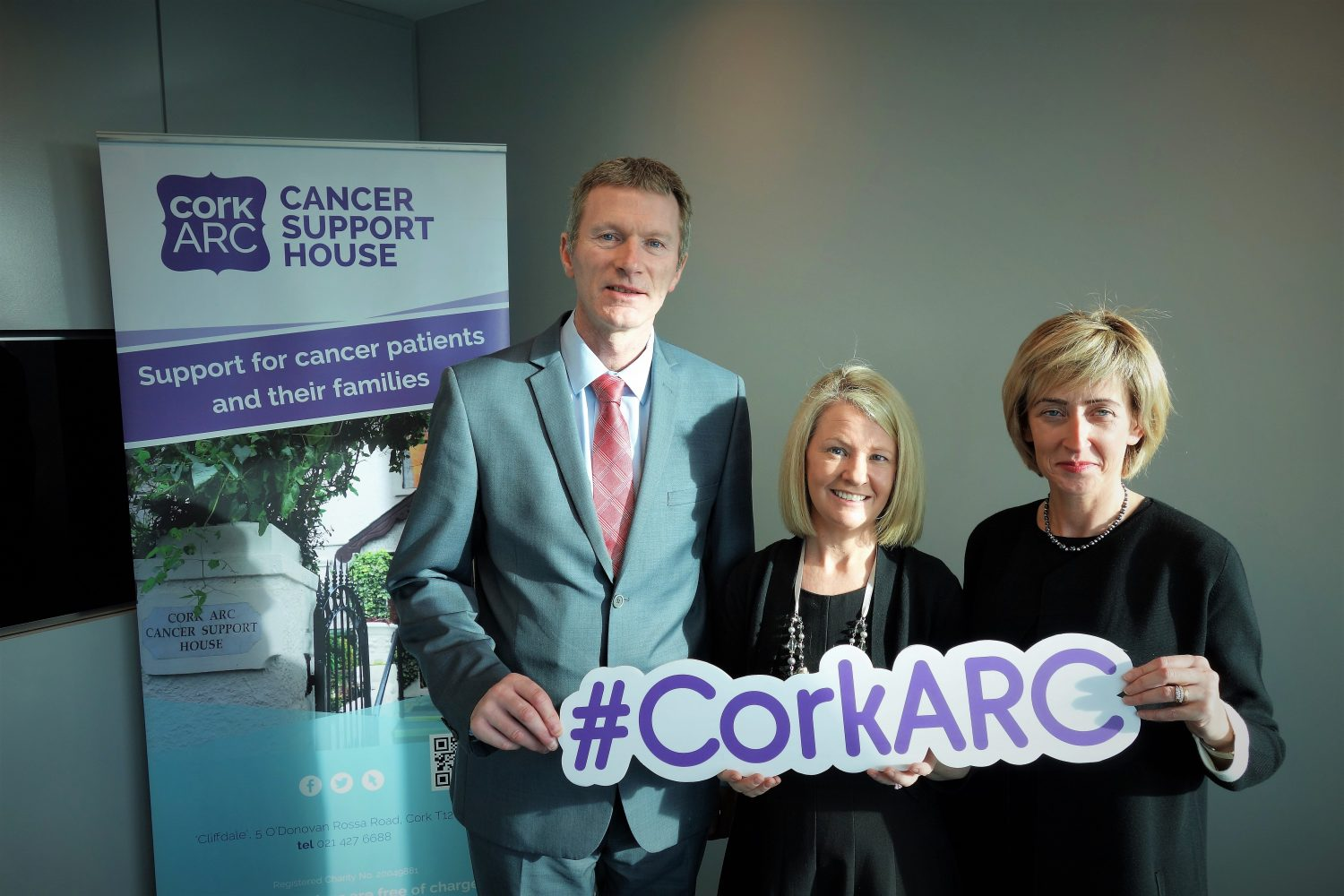 4th February: Crowleys DFK & Cork ARC's Charity Partnership is launched on World Cancer Day!