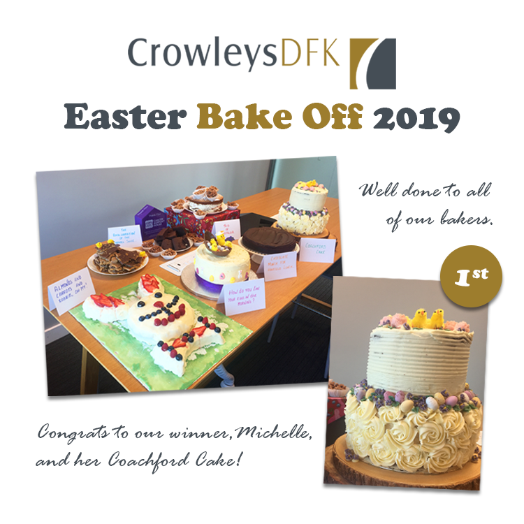 Easter Bake Off in aid of Cork ARC