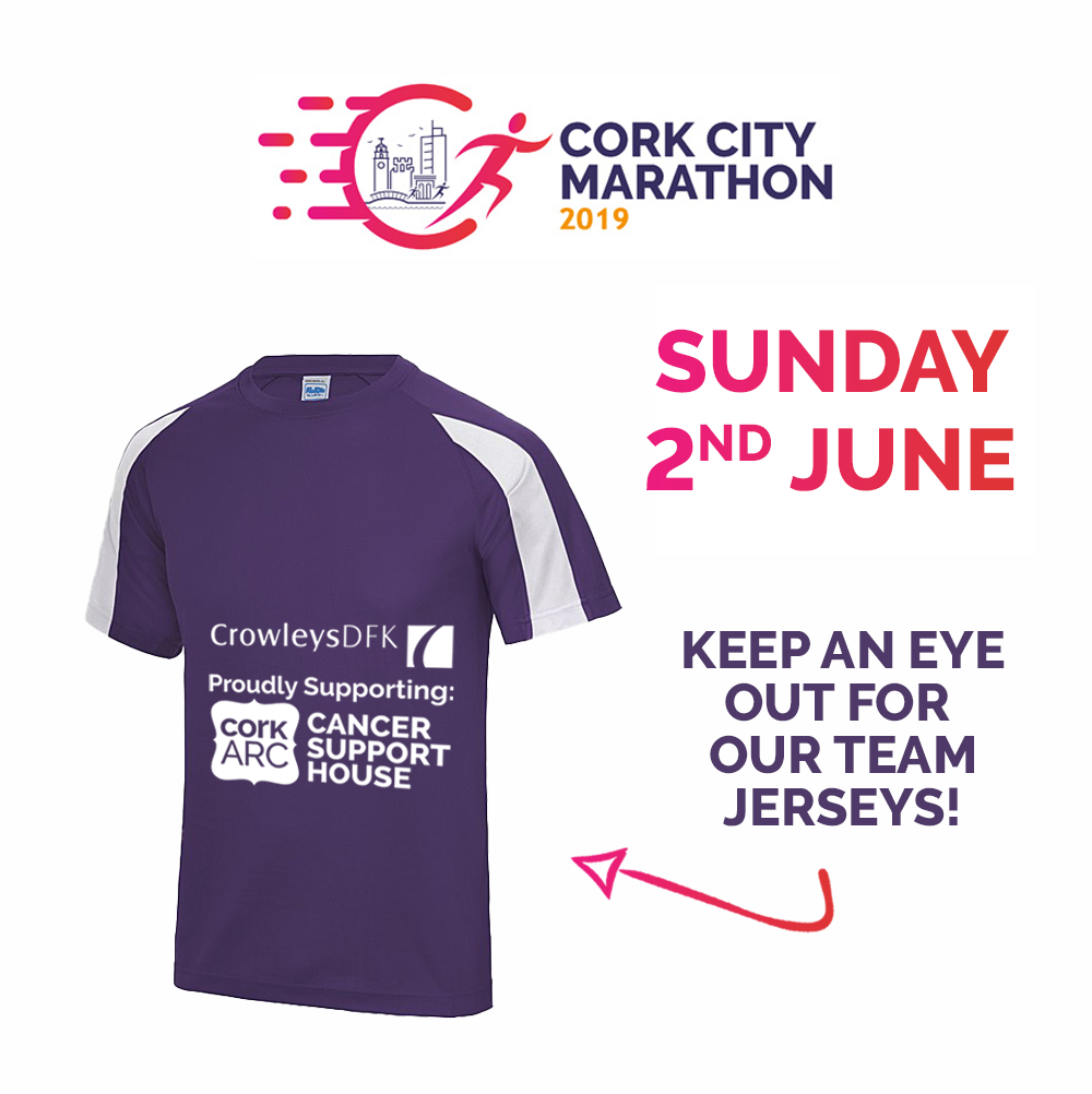 2nd June: Crowleys DFK take part in the relay and the full marathon at the Cork City Marathon.