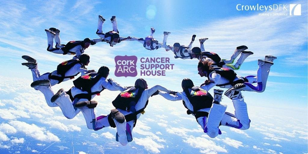 Crowleys DFK Sky Dive in aid of Cork ARC - Saturday 29th June.