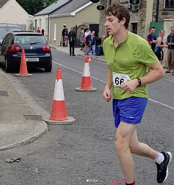 Well done to John as he completes his first triathlon in Midleton on 7th July!