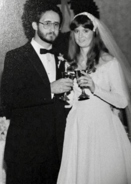 Anna Lee's gorgeous parents! Doesn't that dress look familiar?
