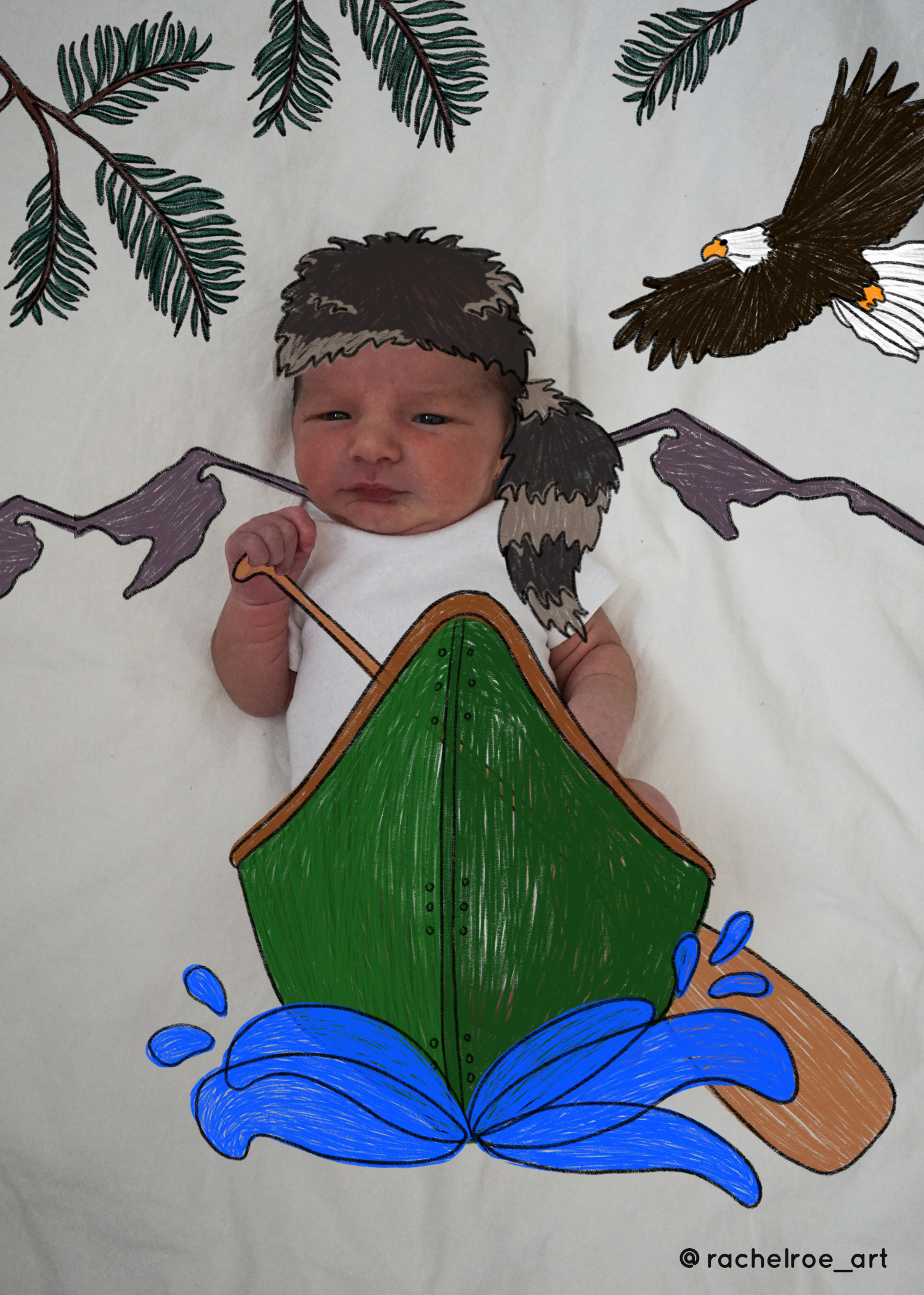Baby Announcement Illustration_Canoe_Rachel Roe.jpg