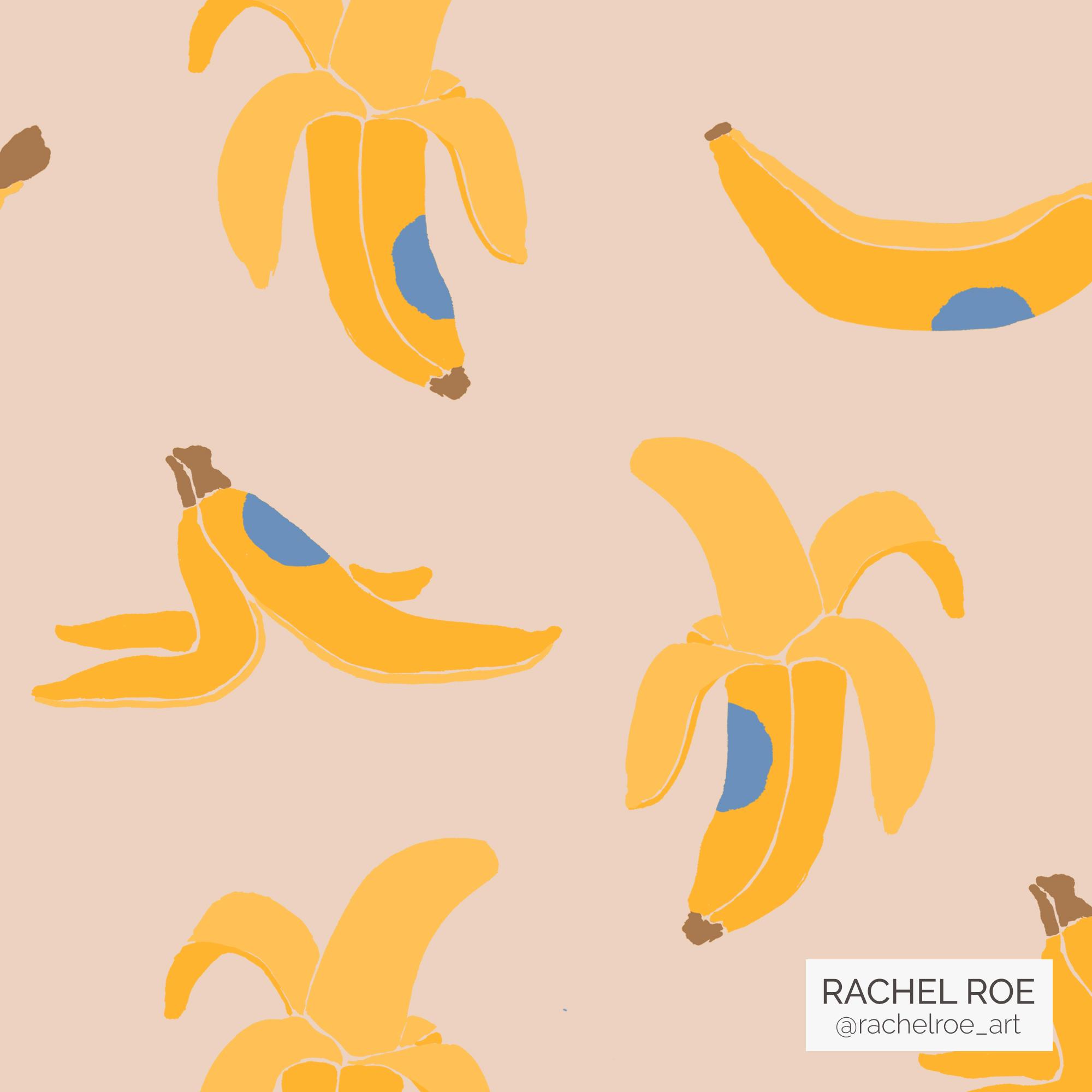 Bananas Illustration Pattern_Instagram_Rachel Roe.jpg