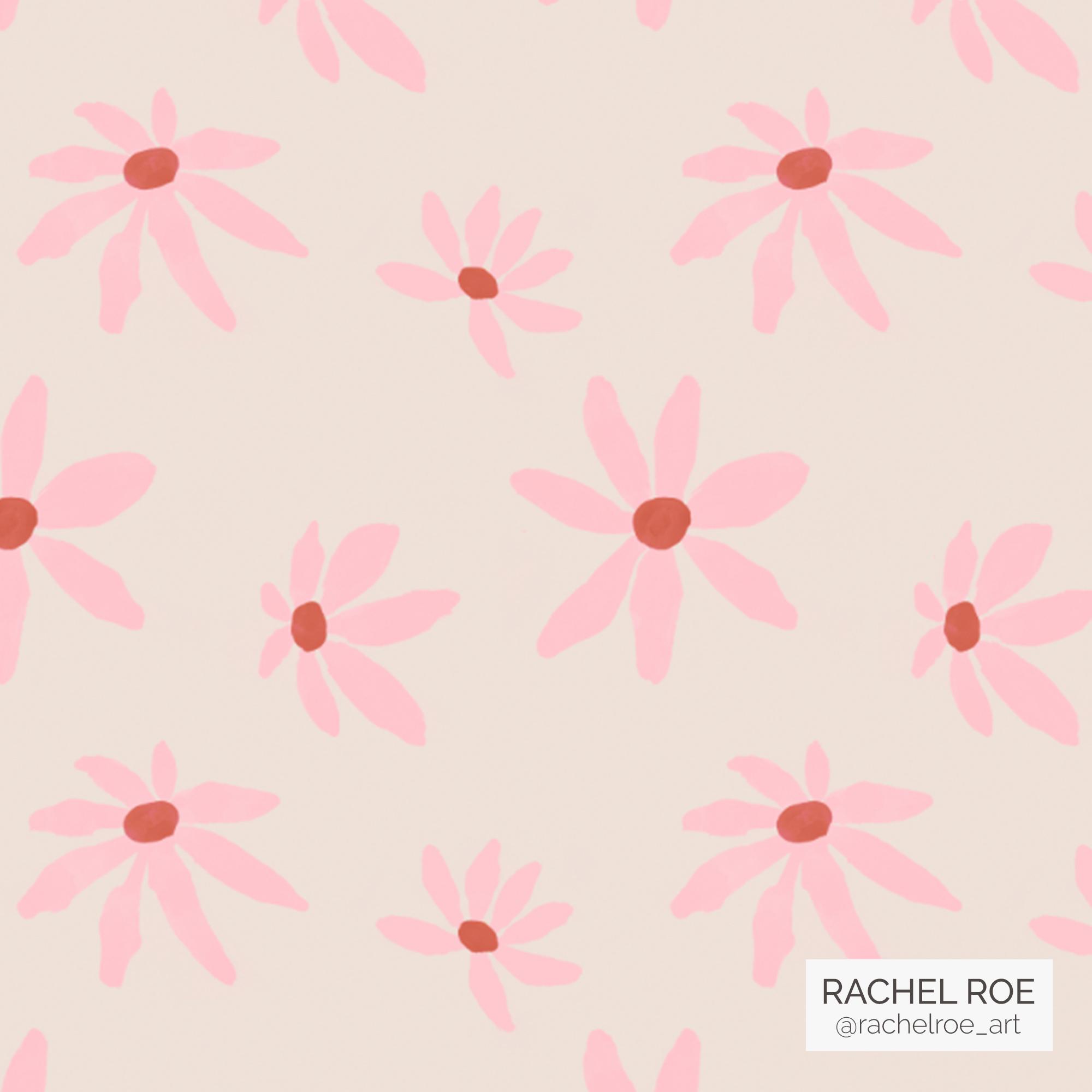 Pink-Wildflower Illustration Pattern_Instagram_Rachel Roe.jpg