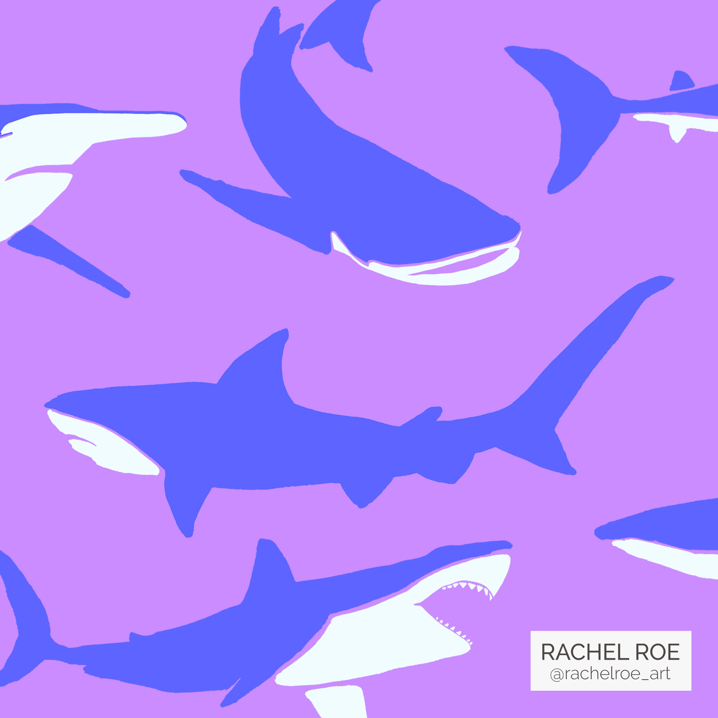 Shark Illustration Pattern_Instagram_Rachel Roe.jpg