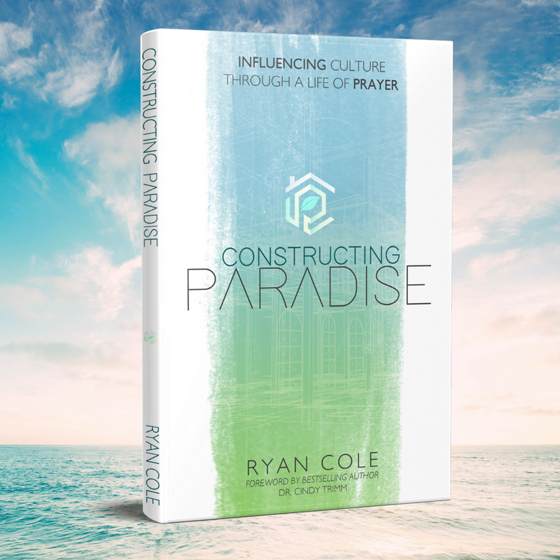New Release! - Through this groundbreaking new message, Ryan Cole teaches you how to recapture the glorious environment that Adam and Eve experienced in the Garden of Eden. Constructing Paradise is a handbook for understanding prayer and gives you the tools you need to change the environment of the world around you!