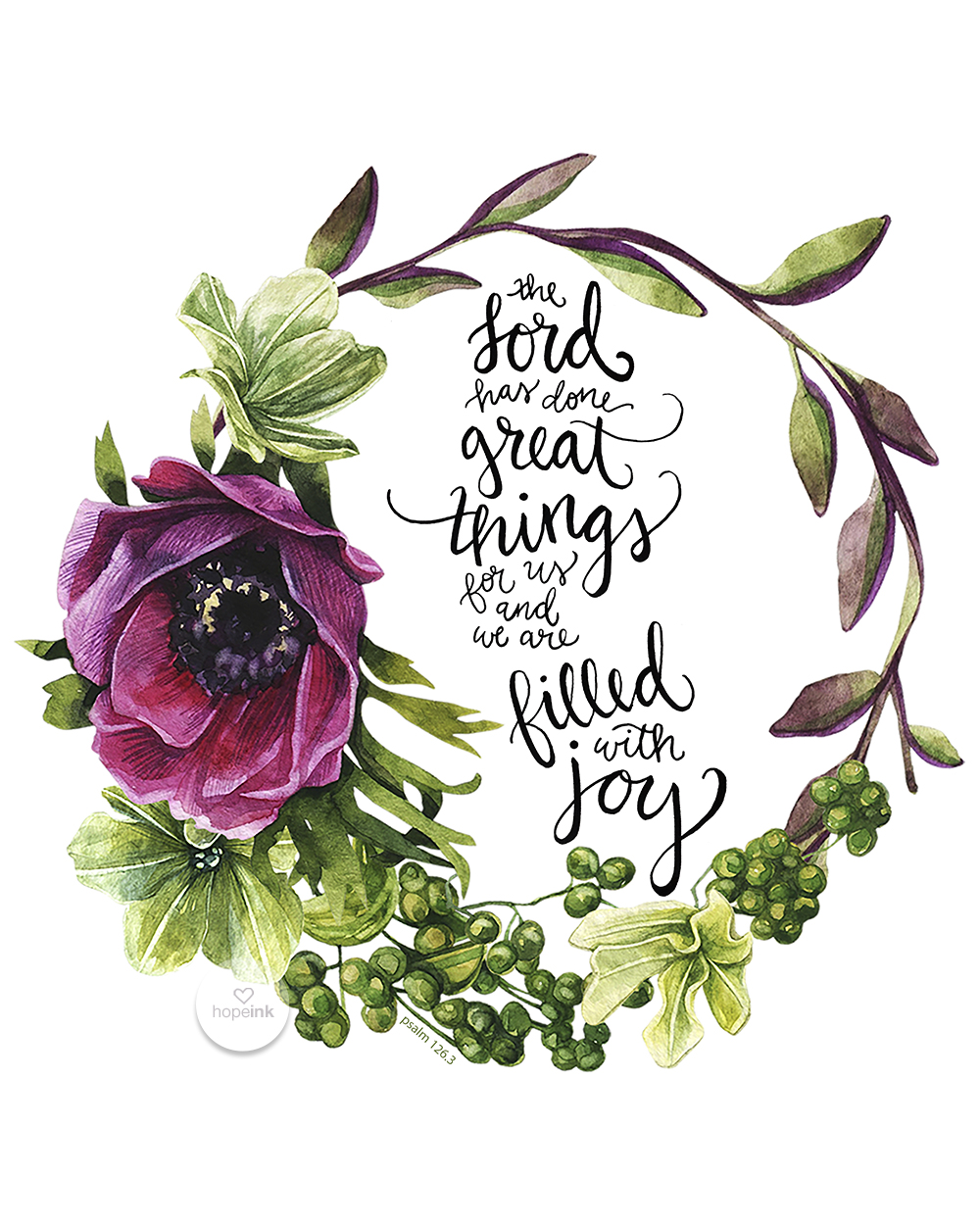 The Lord Has Done Great Things For Us Hand Lettered Scripture Art Hope Ink.jpg