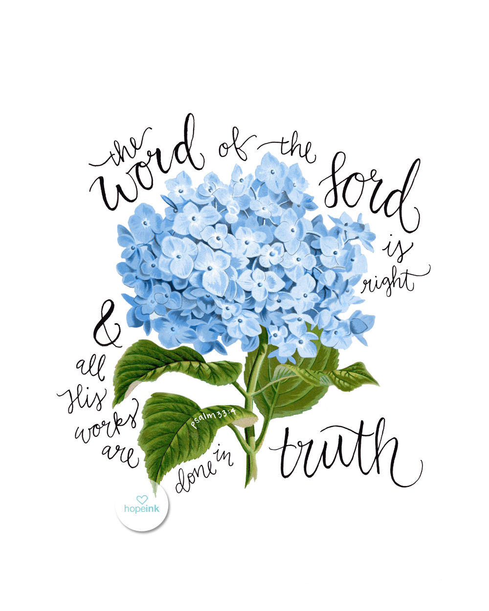 Scripture Art Hydrangeas Hope Ink.jpg