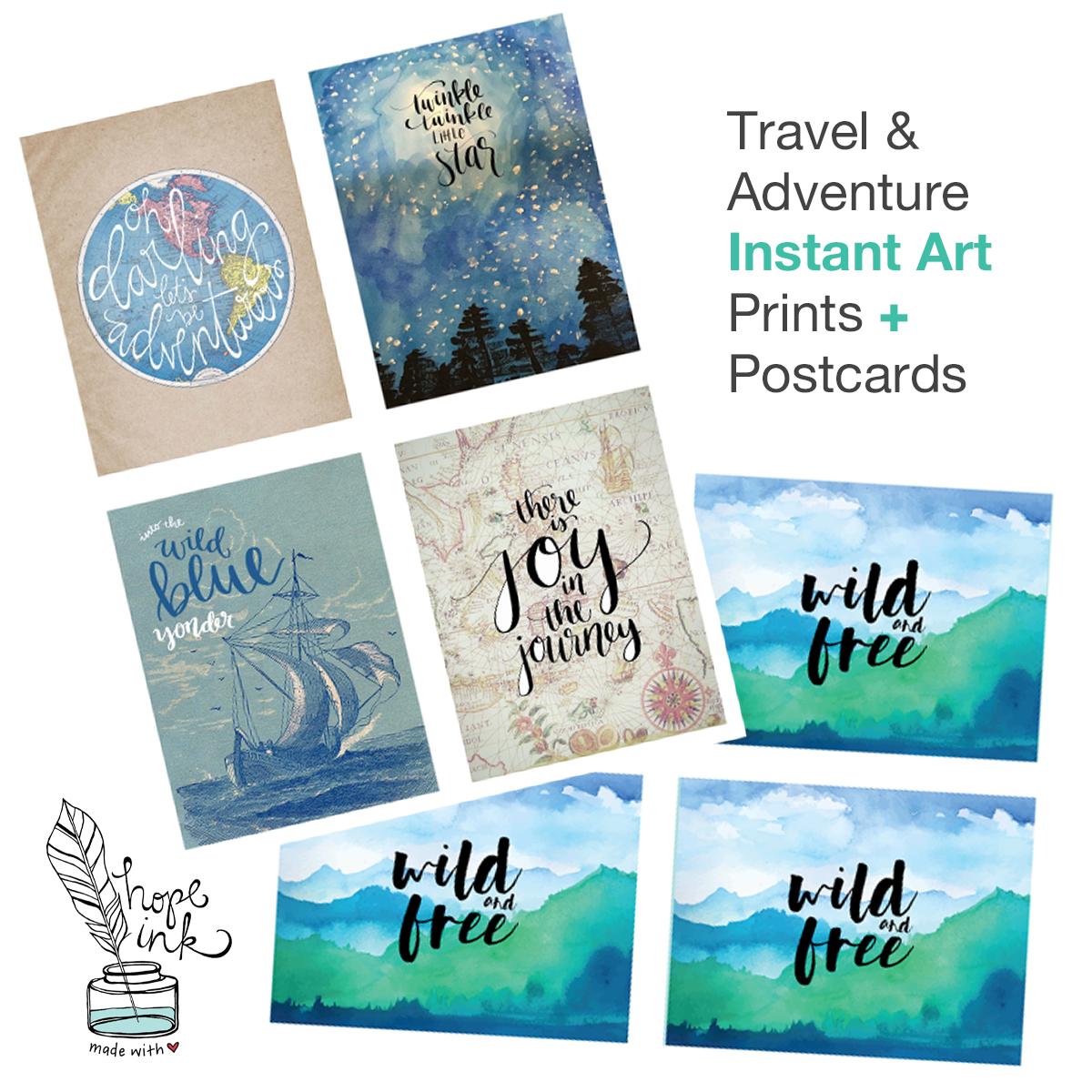 Travel + Adventure Bundle Printables | Hope Ink.jpg
