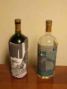 Wine bottle experiment, 2004