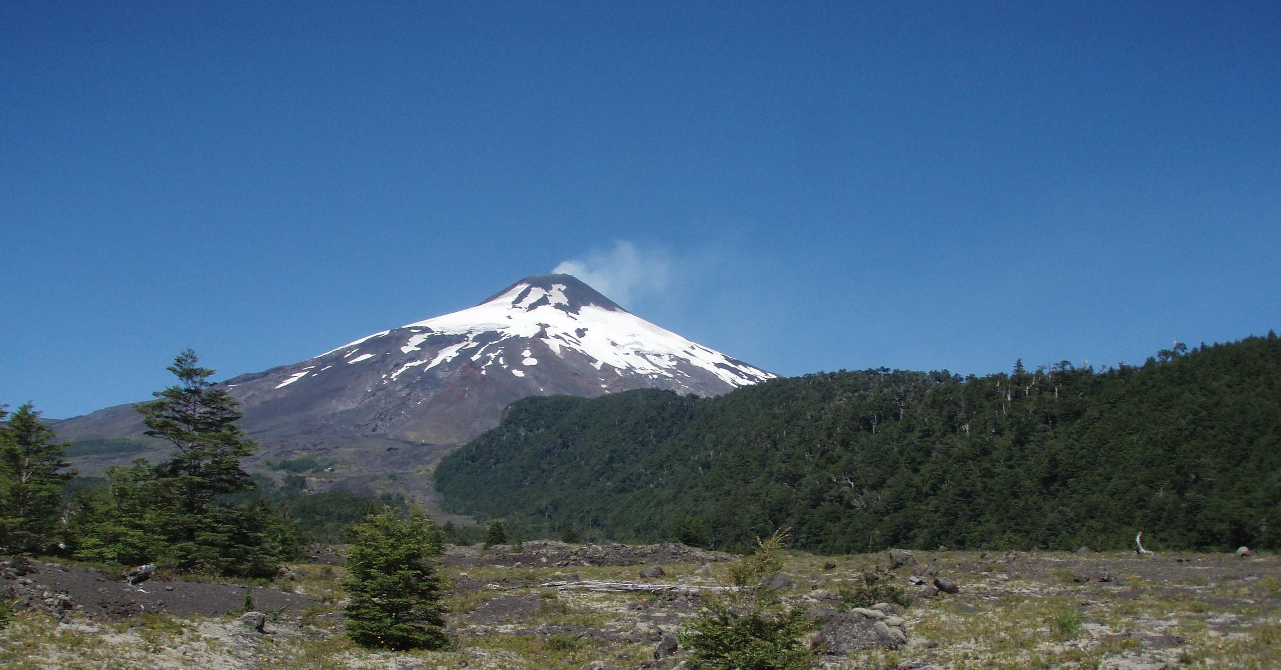 Villarrica Volcano, Chile, February 2011