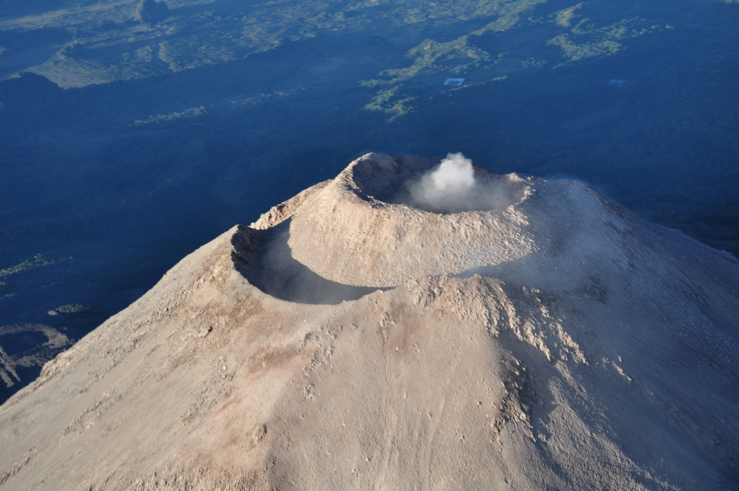Summit of Colima Volcano, Mexico - PASI Workshop - January 2013