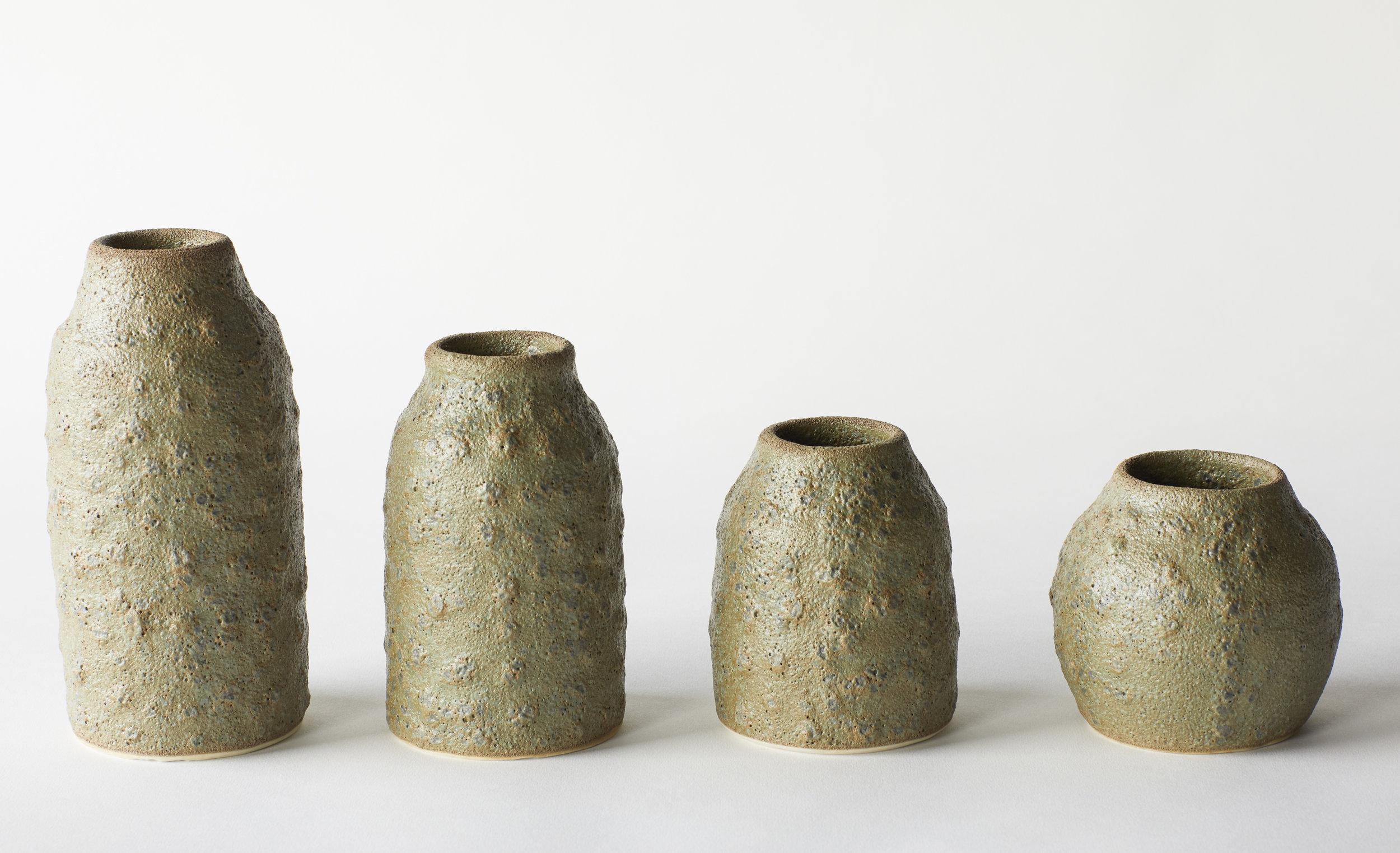 Olive Crater Vases.jpg