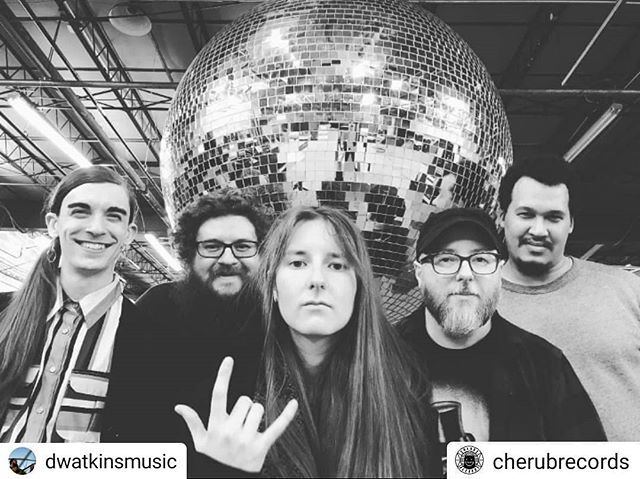 Double repost here lol, so psyched to be making beautiful aural things with these magical aural people!!! Get to Bandito's this Sunday 🌮 🎸 #Repost @dwatkinsmusic • • • • • Got some of my favorite people together to play some music this Sunday at Bandito's! #Repost @cherubrecords • • • • • THE COLLOQUIAL ORCHESTRA (L to R @micah.feels @dwatkinsmusic @elizabethowensmusic @pjsykes @thumperor) this Sunday 3/10 at @banditosburritolounge with @kenneco @tignortronics #rva #rvamusic #improvisedmusic