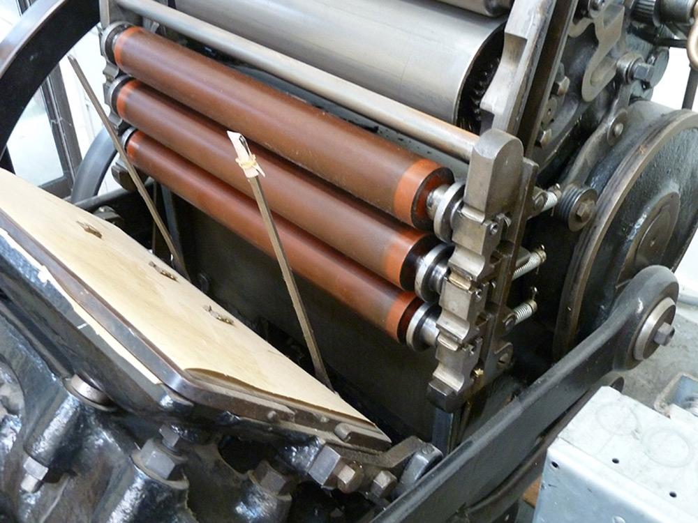 Colts Armory Platen Press
