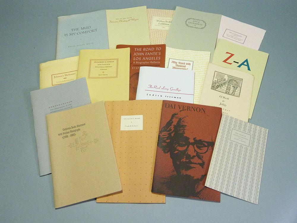 A plethora of pamphlets.