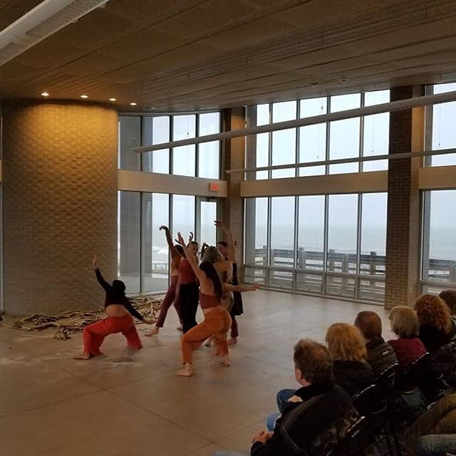 Performance of SANDS. We did this. #michigancitymoves #kaymoves #elisekermani