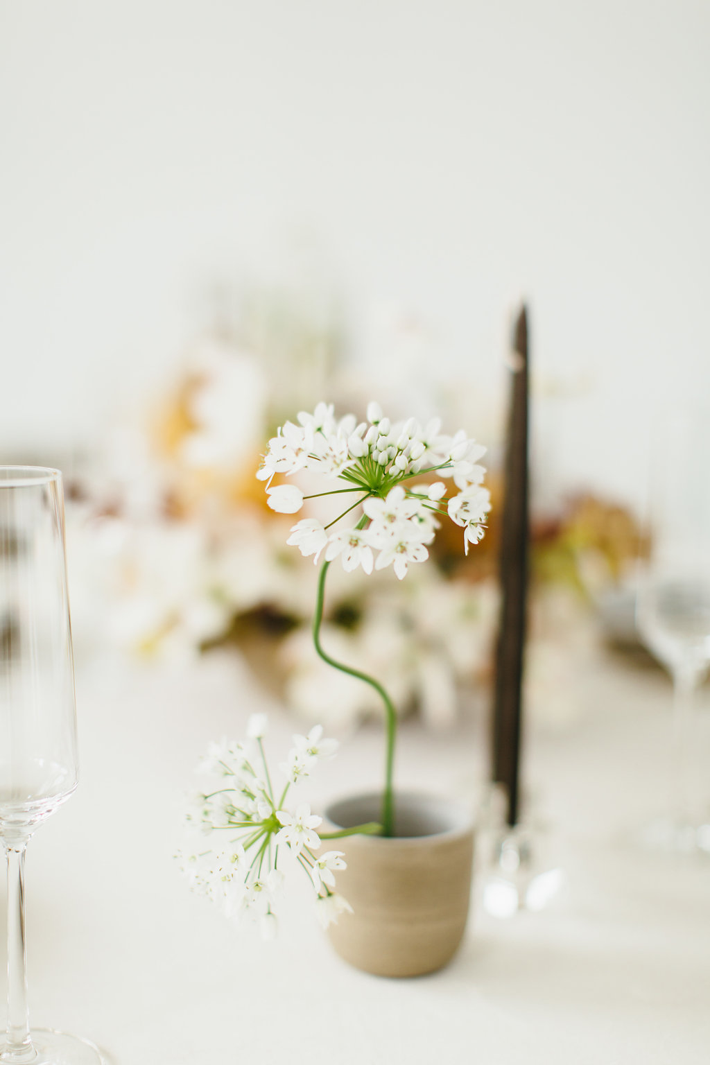 Bleedfoot Florals Modern Minimal Spring Editorial