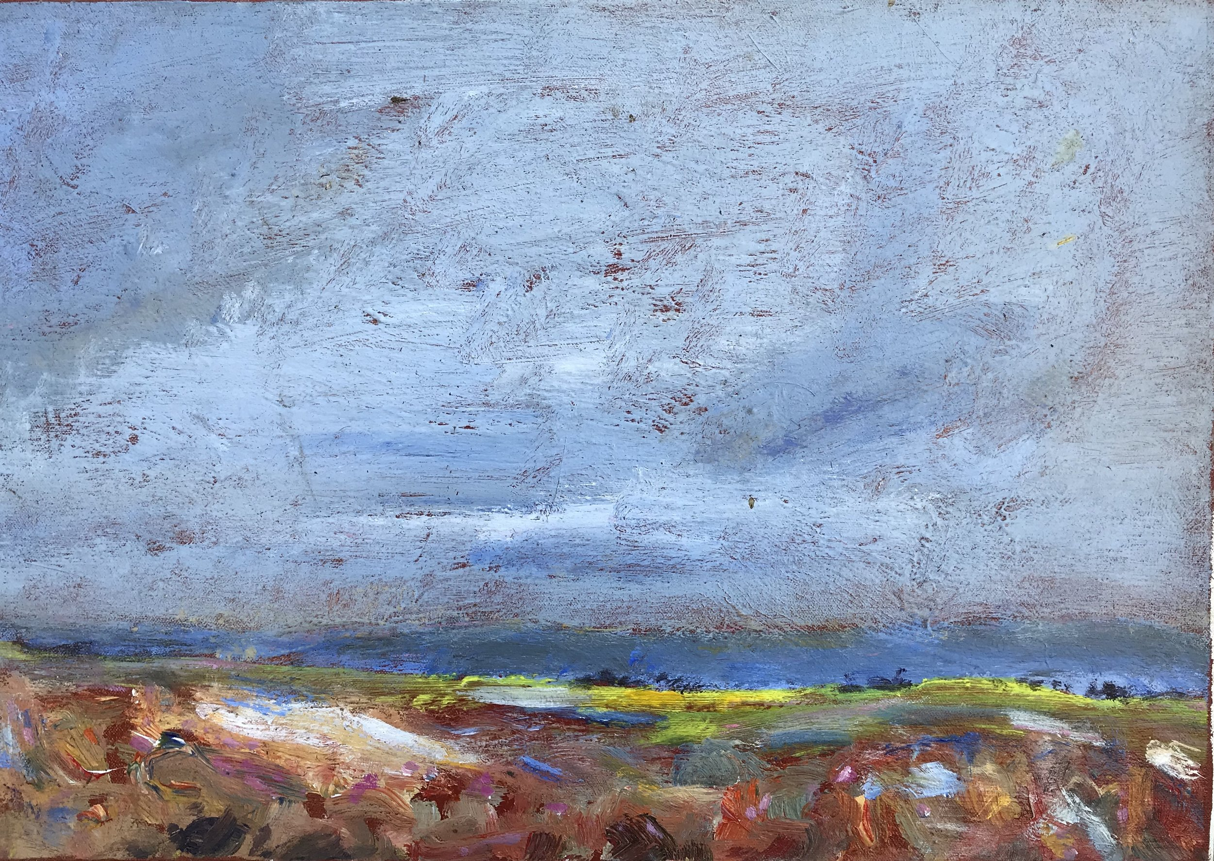 """""""Provence"""" - 14"""" x 20"""", oil on canvasValue: $1,550Opening bid: $600email your bid to: art@bradfordbrenner.com"""