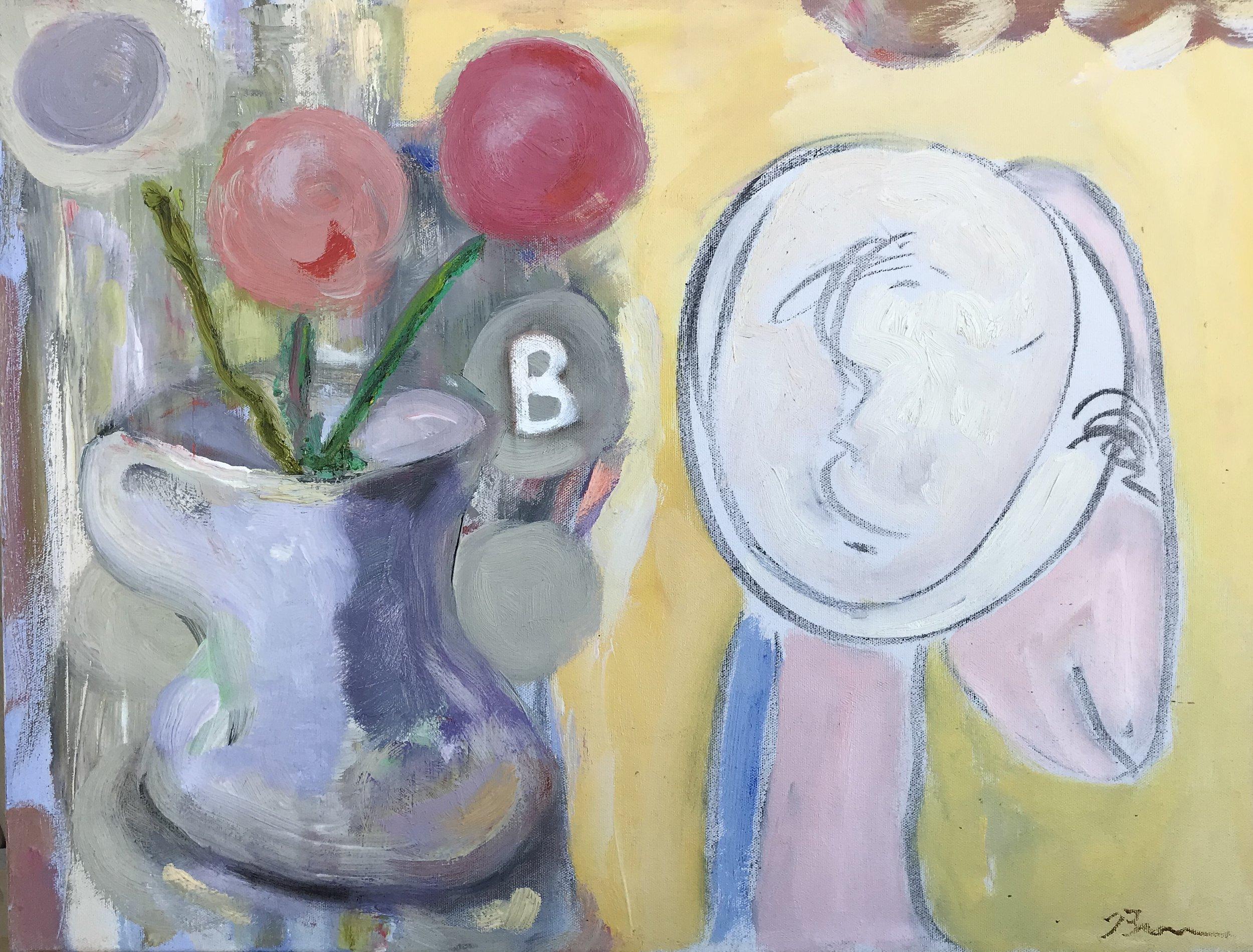 """Something Like a Dream"" - 18"" x 24"" x 1"", oil on canvasValue: $2,200Opening bid: $1,100email your bid to: art@bradfordbrenner.com"