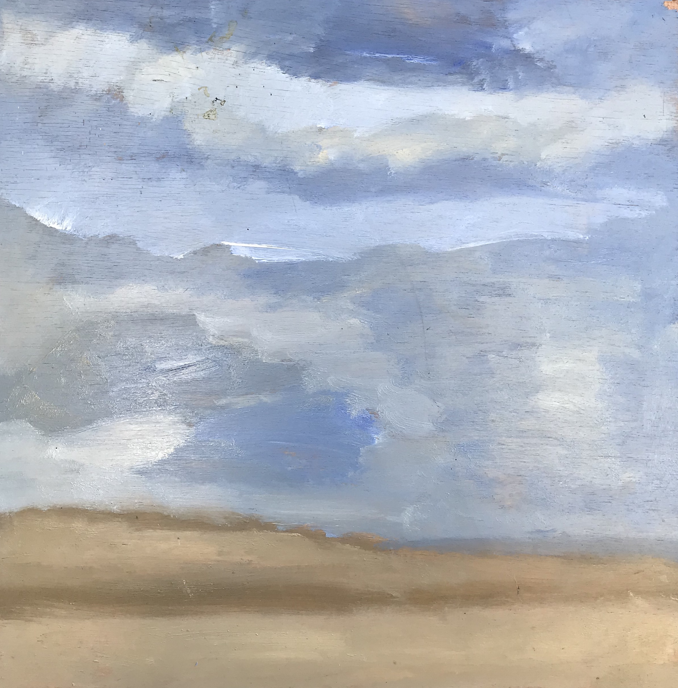 """""""Sea and Sand"""" - 24"""" x 24"""", oil on panel (needs to be framed)Value: $2,650Opening bid: $900email your bid to: art@bradfordbrenner.com"""