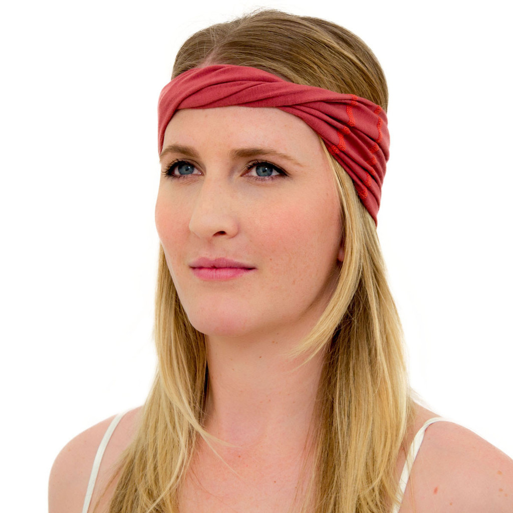 marsala head wrap for women