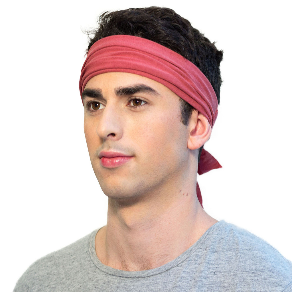 Men's bandana headband