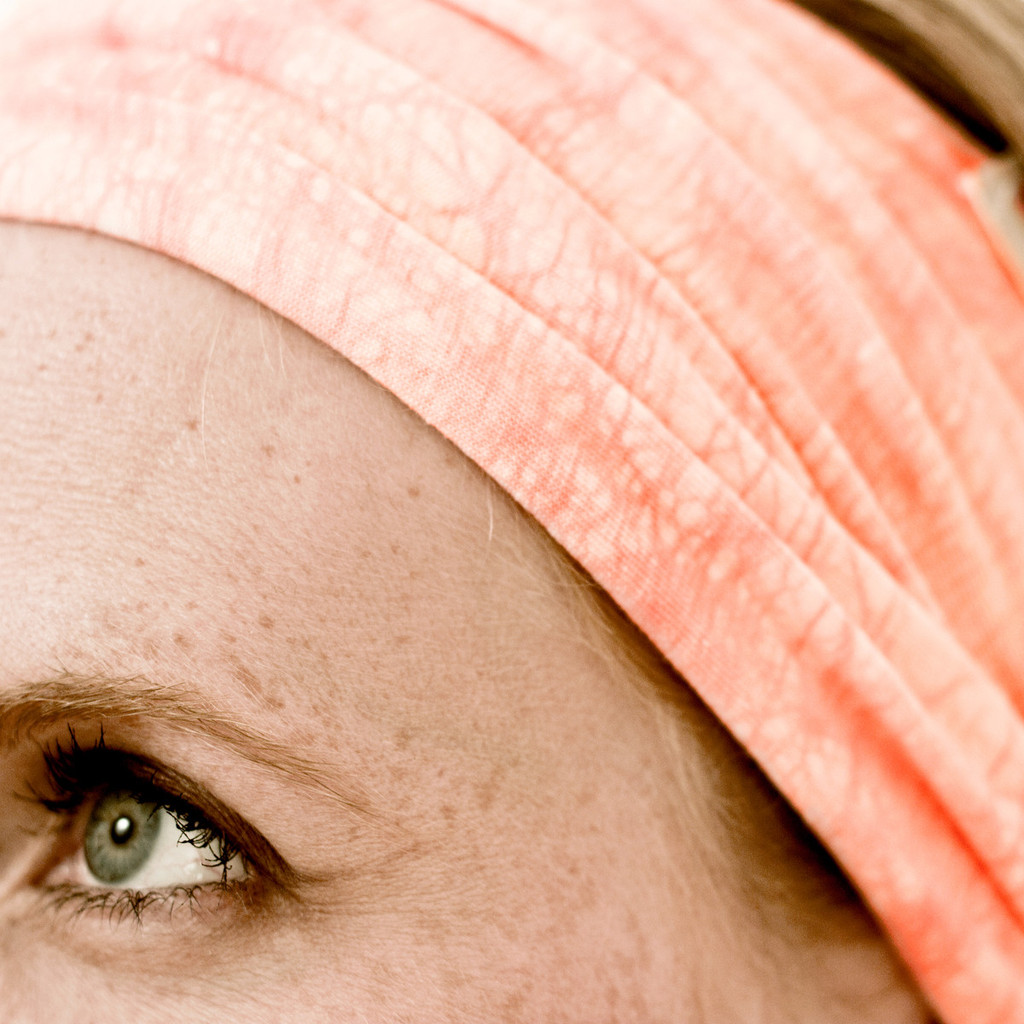 Coral headband for women