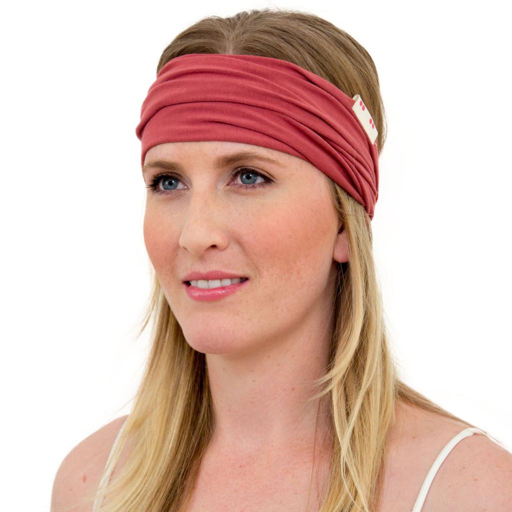 Marsala Red Head Wrap