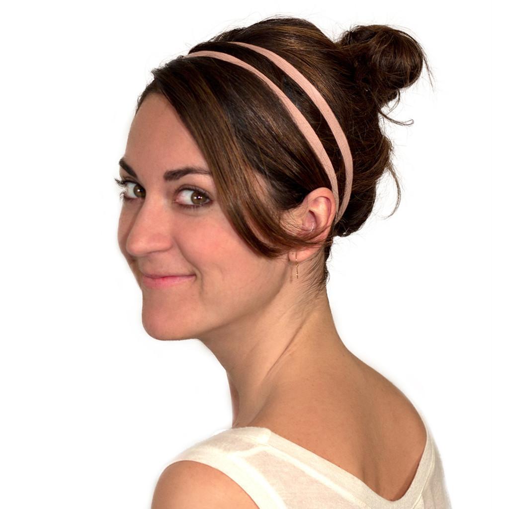 Light Pink Skinny Headband