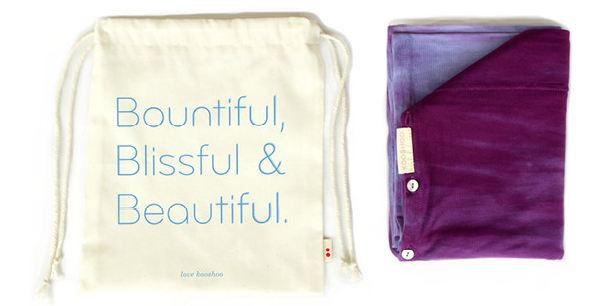 Your Organic Cotton Travel Bag!
