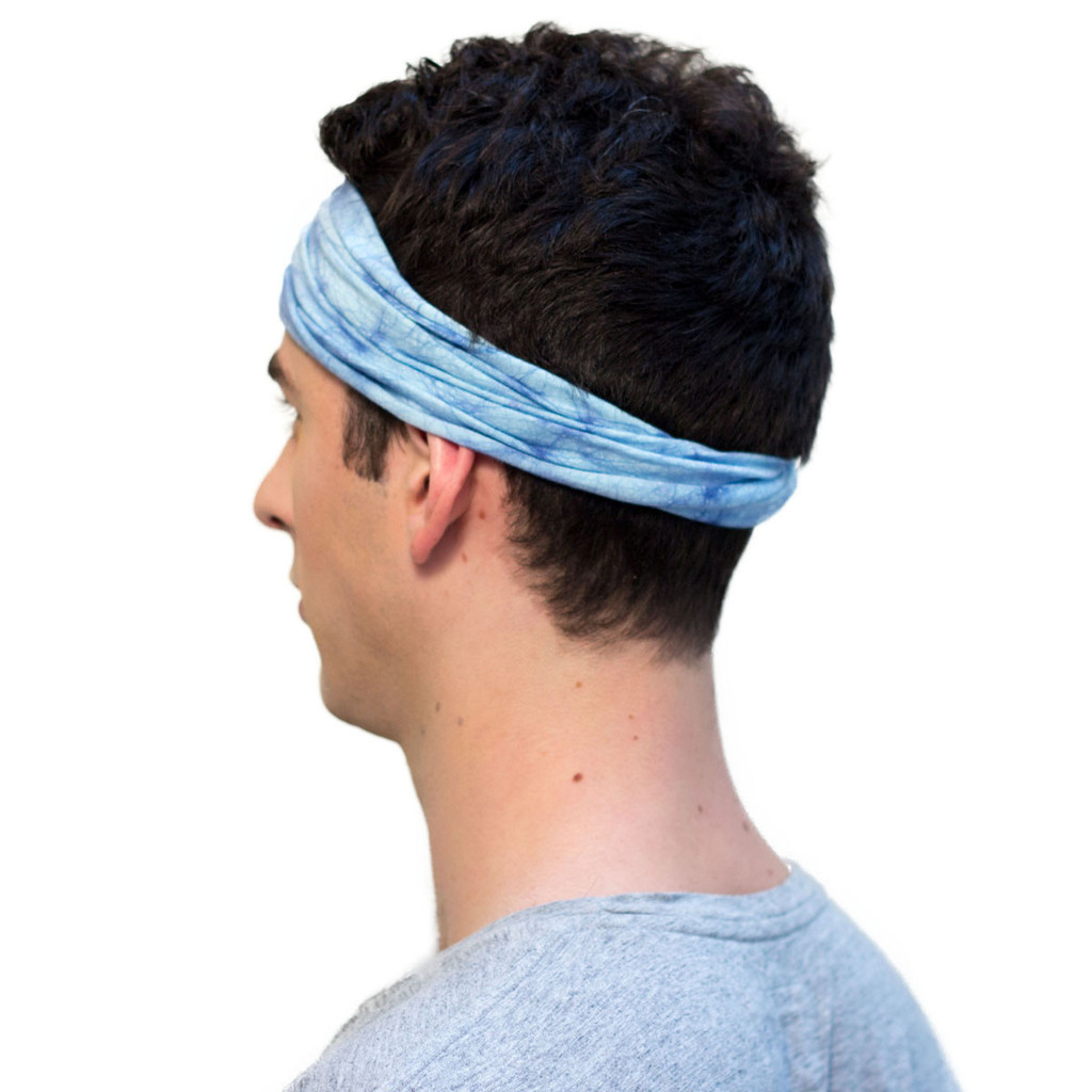 Best selling blue headband for men