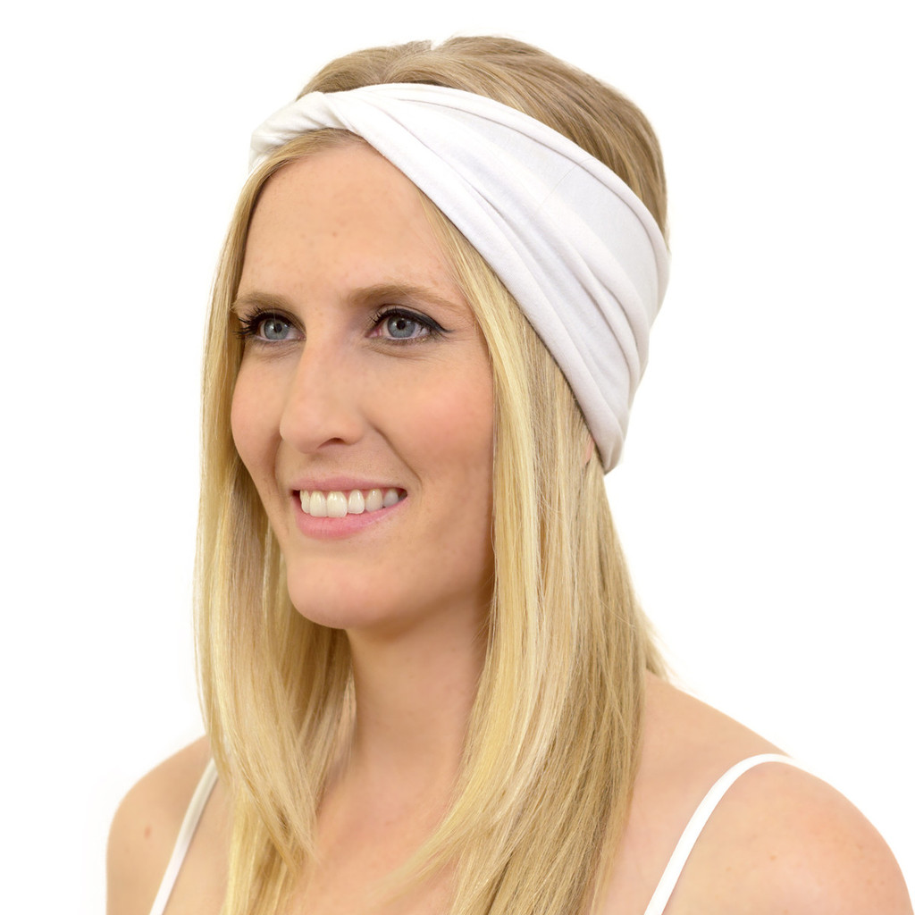 White Head Wrap for Kundalini Yoga