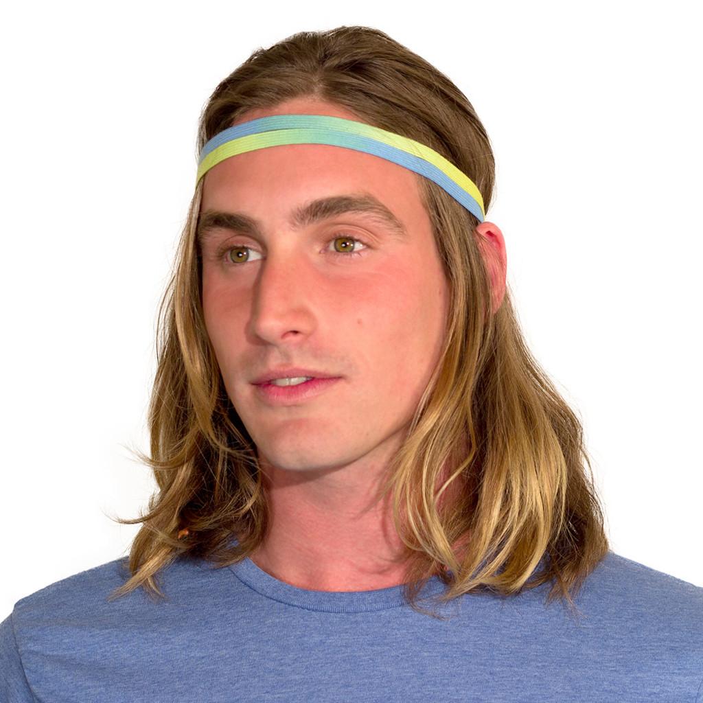 mens skinny headbands