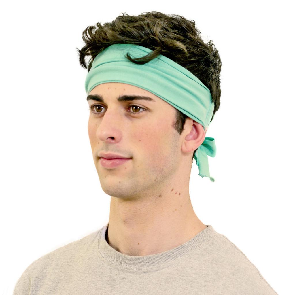 Bandana headband for men