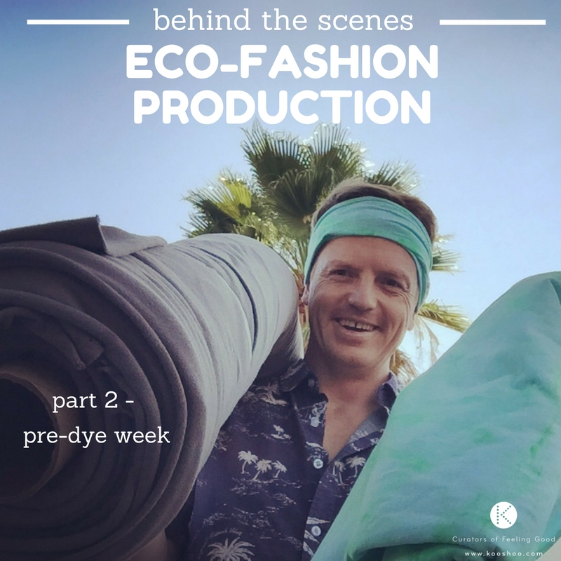 fashion manufacturing behind the scenes - an ethical fashion story