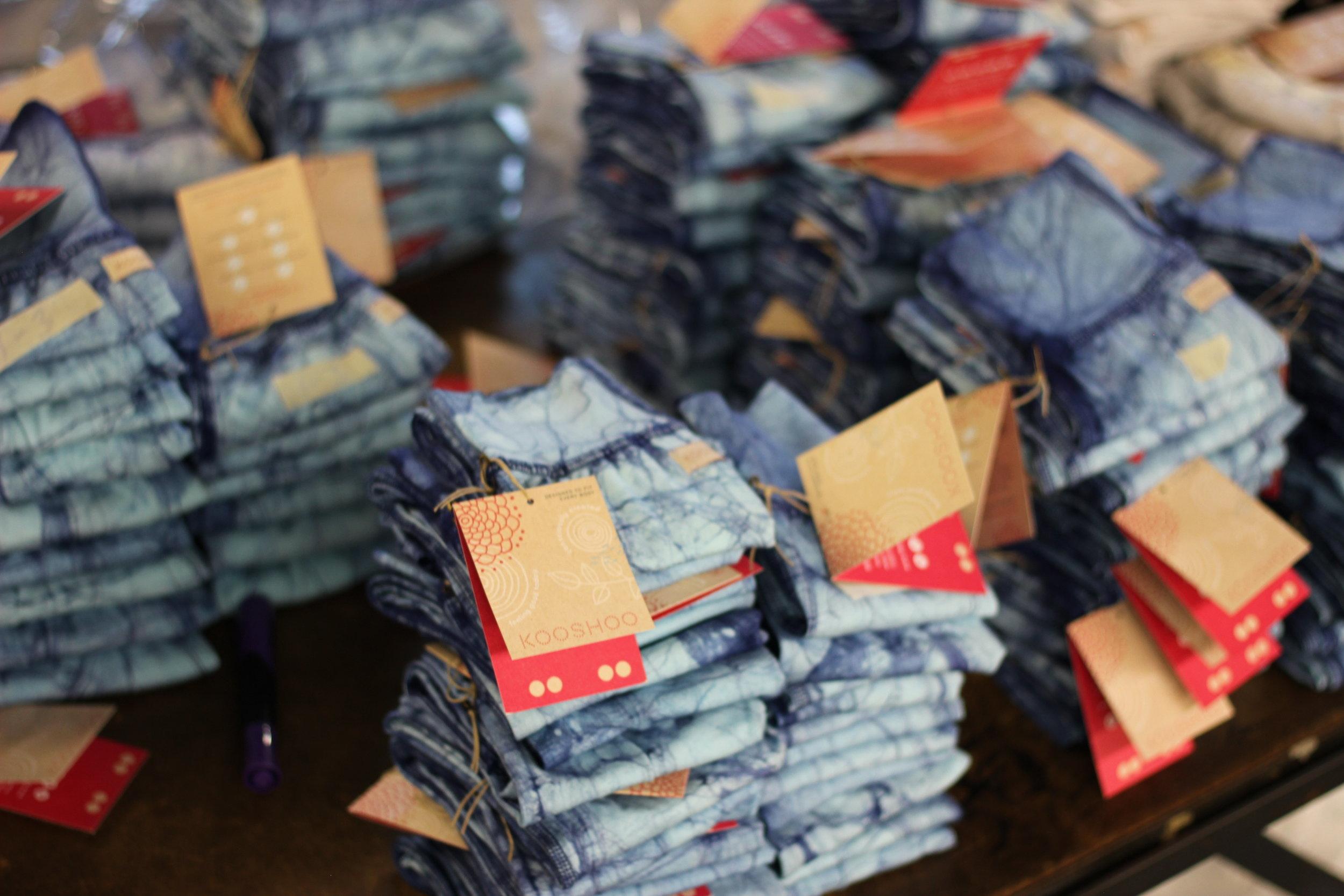 Jean Blue Batik Baby & KIds Pants  - the Coolest Pants for the Coolest Kids